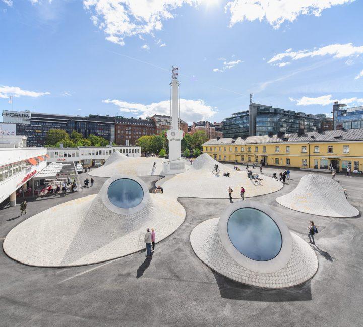 フィンランド・ヘルシンキに新美術館Amos Rexがオープン オープニング展でチームラボが新作を披露