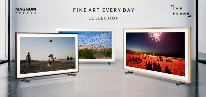 アート作品にもなるSamsungの額縁テレビ「The Frame」 マグナム・フォトとのコラボで特別な写真を配信