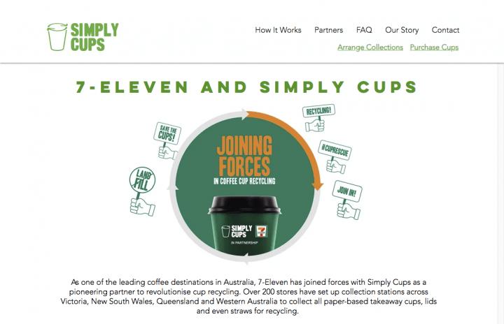 世界初の再利用可能コーヒーカップ「rCUP」と豪セブンイレブン リサイクルに向けた取り組みを展開