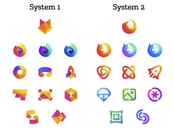 MozillaがFirefoxロゴの新デザイン2案を発表 ブラウザを越えて製品全体をまとめる新システムを構想