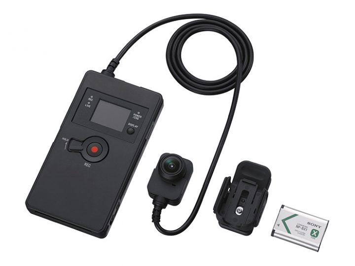 ソニーが強力なブレ補正機能を搭載した業務用ウェアラブルカメラを発売 警備・救急・消防などでの活用を期待