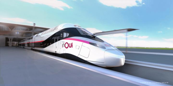 nendoがフランス高速鉄道TGVの内装デザインを担当 新型車両は2023年の運行開始を目指す