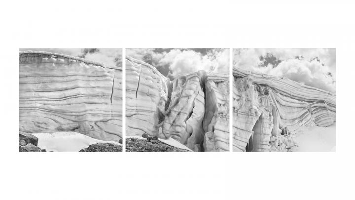 スイス人写真家による「氷河」の写真展 「ダニエル・シュワルツ写真展 – de glacierum natura」が開催