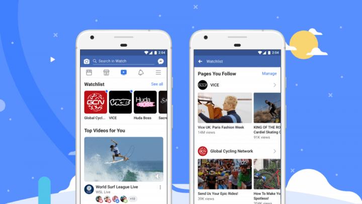 Facebookの動画配信サービス「Watch」 日本を含む世界展開が開始