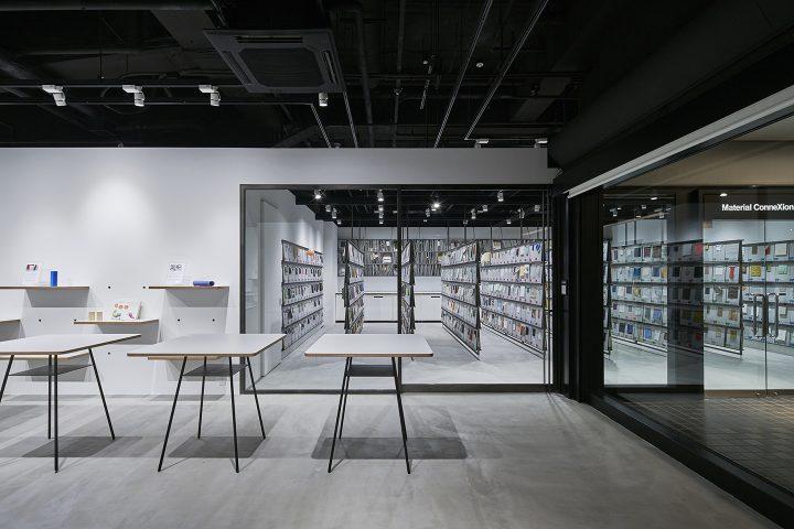 芦沢啓治とトラフ建築設計事務所が手がけた、マテリアルコネクション東京の新拠点