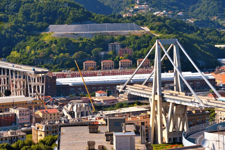 建築家レンゾ・ピアノ 故郷ジェノヴァで起きた高架橋の崩落事故を受け 新たな橋のデザイン案を寄贈