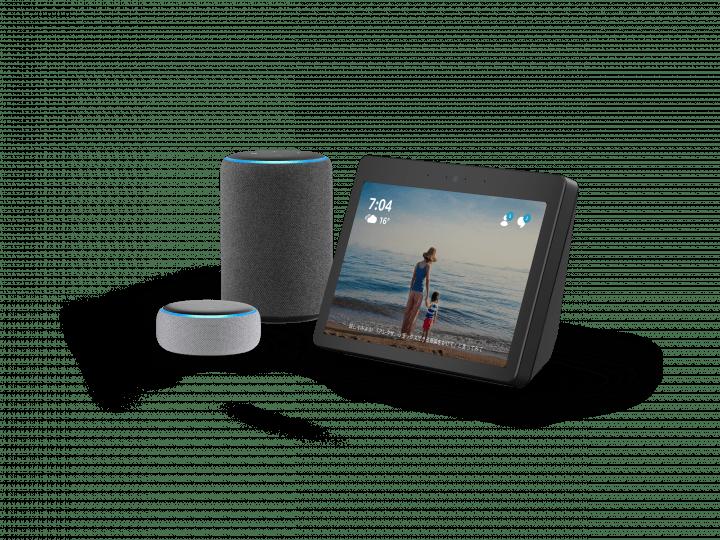 「Amazon Echo」の新製品が登場。 Alexaを自宅のさまざまな場所で楽しめる