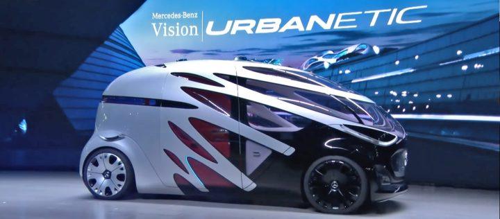 自律運転車時代のモジュラーカー。メルセデス・ベンツ「ビジョン・アーバネティック」