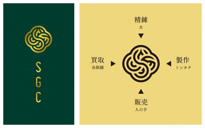 西澤明洋率いるエイトブランディングデザイン ゴールドカンパニー「SGC」をリブランディング