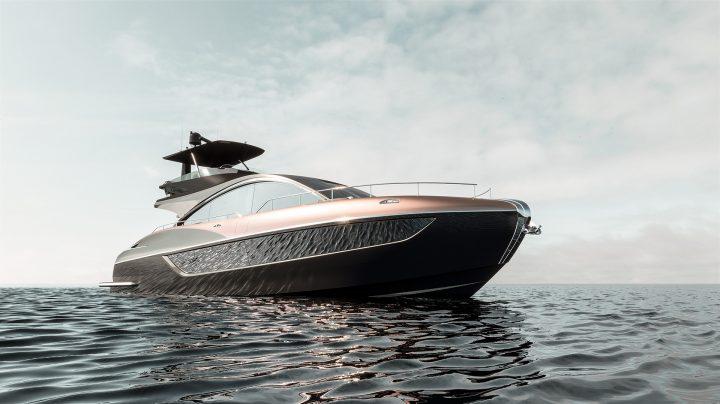 LEXUSからラグジュアリーヨット「LY650」が登場 立体的なフォルムと優美な曲線の美しさを追求