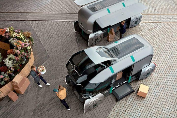 ルノーが自動運転のEVコンセプト「EZ-PRO」を初披露。ラストワンマイルのデリバリー・ソリューションを提案