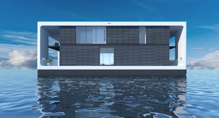 マイアミの企業「Arkup」が夢のような海上生活を提案 太陽光発電による豪華な住居がヨットに