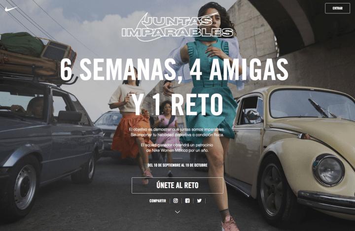 ナイキがメキシコで初の女性限定イベント 「Unstoppable Together」を開催
