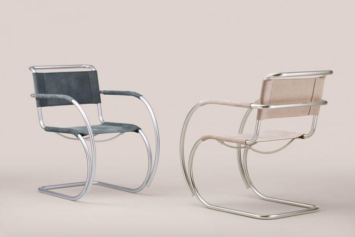 ミース・ファン・デル・ローエがデザインした名作椅子「S 533」 バウハウス100周年を記念してトーネットか…