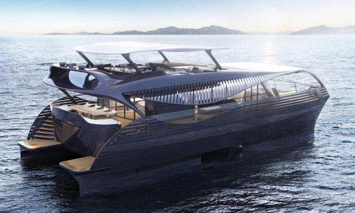 スイスのヨットメーカー「SolarImpact Yacht」が最新モデルを発表 豪華な宿泊設備を備えた世界初の外洋仕…