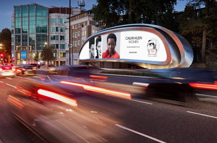 Zaha Hadid Designがデザインを担当した 彫刻のようなデジタルサイネージ「The Kensington」が発表