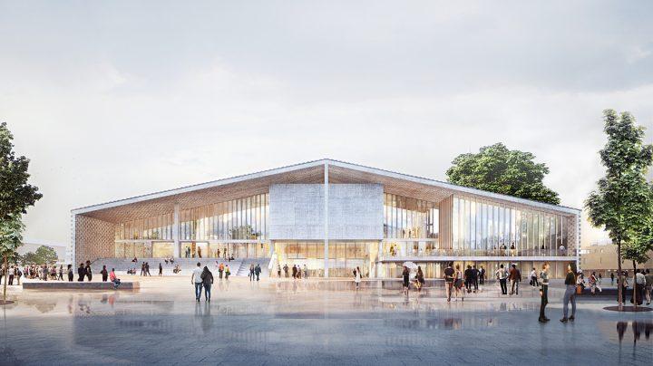 ベルリンで新施設「Museum of 20th Century」が計画中 スイスの建築家ユニット ヘルツォーク&ド・ム…