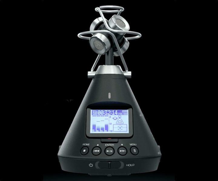 音のVR化によって体験はますますリアルに。全方向マイクロフォン「ズーム H3-VR」新登場