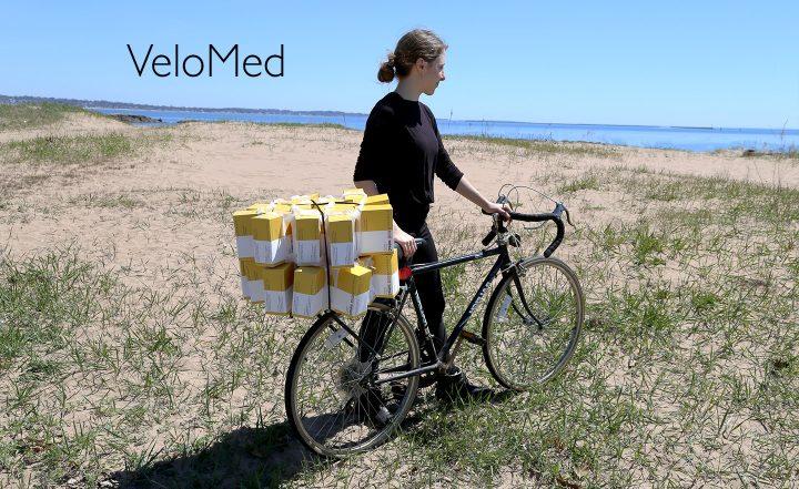 アメリカの若手デザイナーGwen Gageが発表した 医薬品運搬用のアイテム「VeloMed」