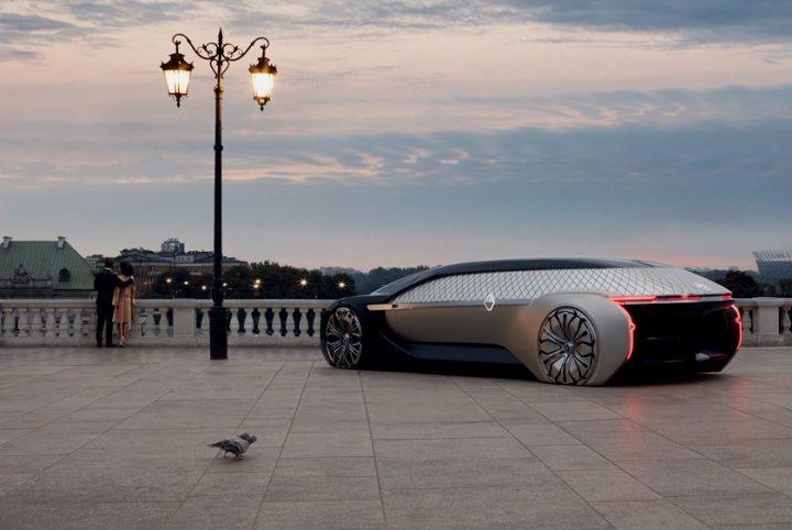 ルノーが完全自動運転のEVコンセプトカー「EZ-ULTIMO」を発表 大理石も使ったエレガントな内装デザインを…