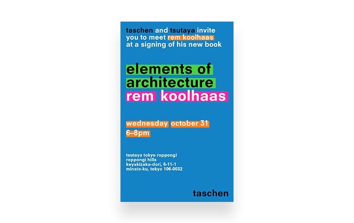 建築家レム・コールハースのトークセッション&サイン会が開催 新刊書の発売を記念した連動企画