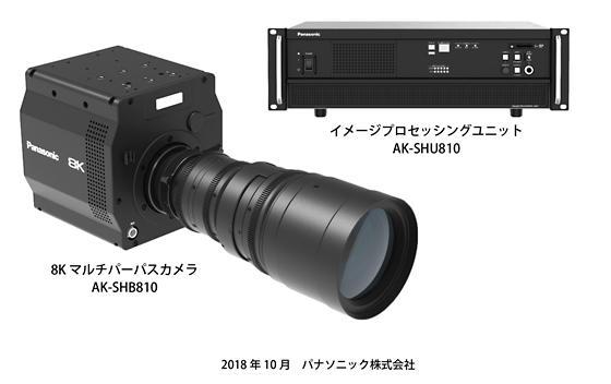 パナソニックが世界初の8K有機センサーを搭載した 8Kカメラシステムを開発 放送制作が高画質化へ