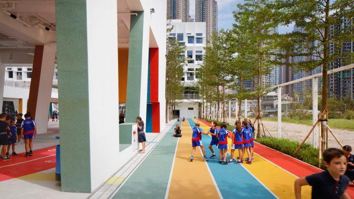 Henning Larsen Architectsによる 香港のフレンチ・インターナショナルスクール 協同と創造のために開かれ…