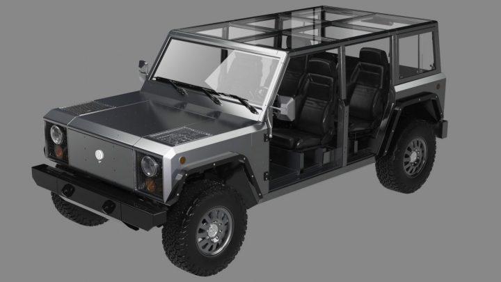 自動車メーカーのボリンジャー・モーターズが新車を発表 完全電気駆動式ピックアップトラック「B2」