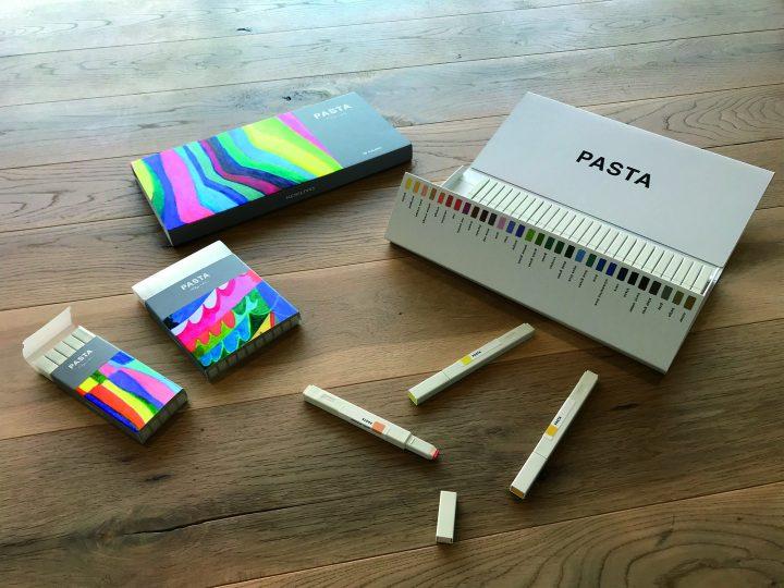 大人向け画材シリーズ「Kokuyo Colors」の第1弾「PASTA」登場 パッケージデザインはクリエイティブユニッ…