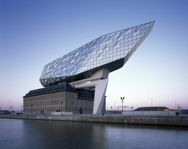 Zaha Hadid ArchitectsがABB・リーフ賞2018の大賞を受賞 アントワープを再解釈する港湾本部「Port House」