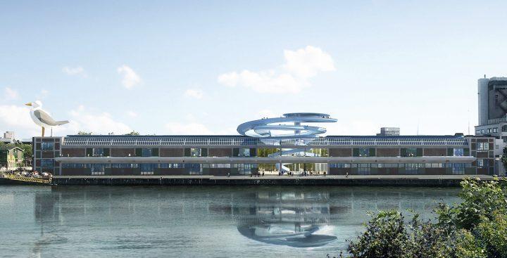 MAD Architectsがロッテルダムの歴史的建築物 「Fenix warehouse」を改装