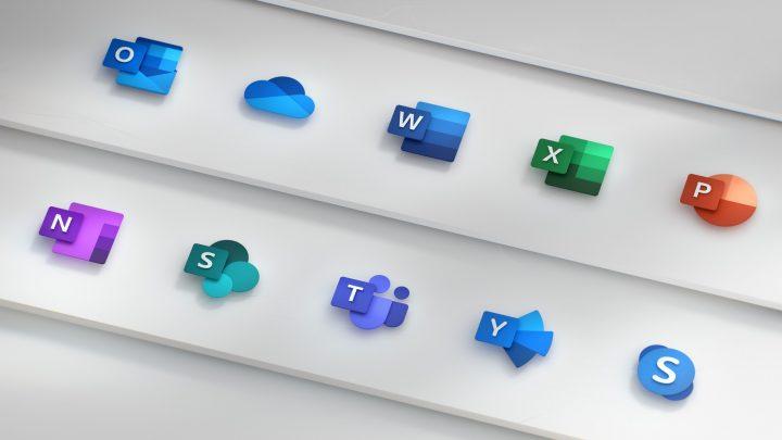Office 365の新しいアイコンが公開 アプリケーションの協調性を表現したデザインに