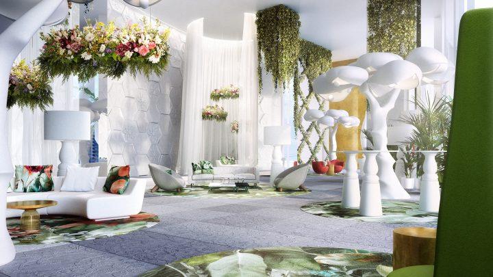 マルセル・ワンダースがパナマで手がける「Hyde project」 高層建築に庭園のようなオアシスを作りあげるイ…