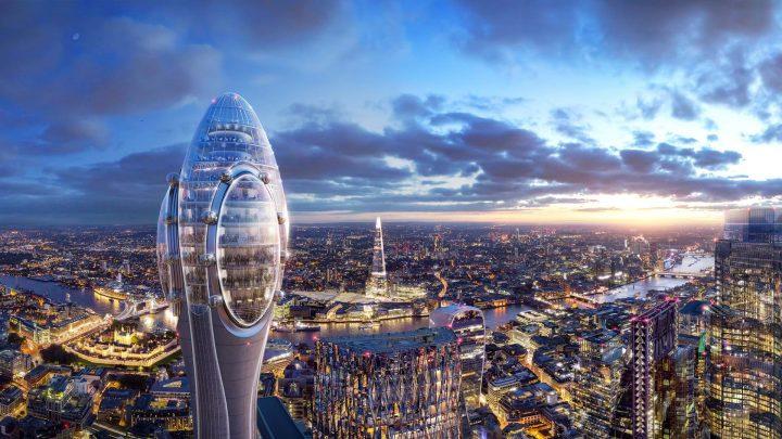 Foster + Partnersによる新高層建築プロジェクト「The Tulip」 ロンドンの新しい公共文化施設へ