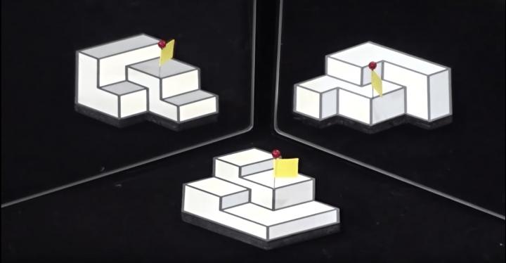 明治大学・杉原厚吉特任教授が制作した「Triply Ambiguous Object」 世界錯覚コンテスト2018で優勝