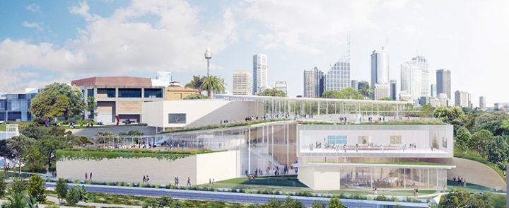 妹島和世と西沢立衛のSANAAが手がける ニュー・サウス・ウェールズ州立美術館 「Sydney Modern Project」