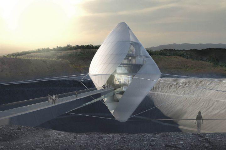 宇宙関連事業立ち上げプログラム「AVATAR X」の技術実証フィールド 「AVATAR X Lab@OITA」のデザイン案が…