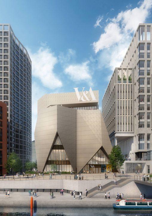 ヴィクトリア・アンド・アルバート博物館のV&A East project 新たな博物館と収集・研究センターが2023年…
