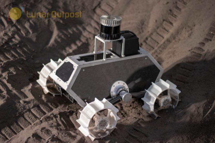 アメリカの宇宙技術関連企業 Lunar Outpost 月面の天然資源を調査する装置「Lunar Prospector」を発表