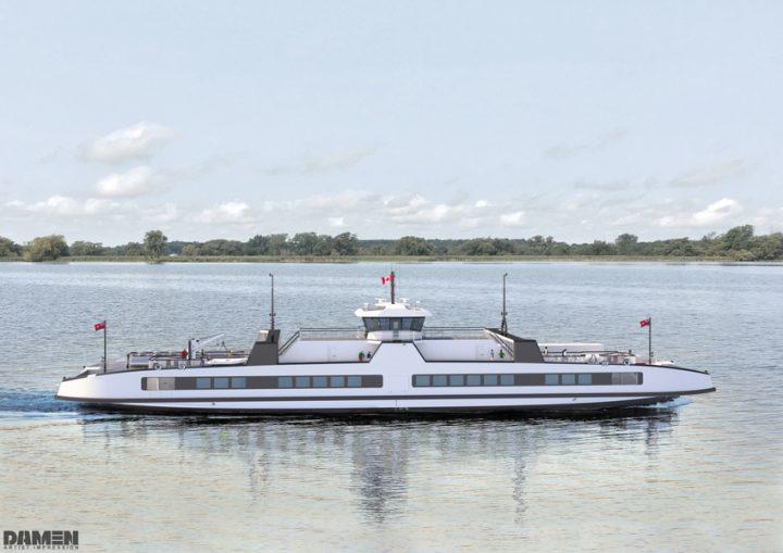 ドイツの推進器メーカーSCHOTTELと オランダの造船会社 Damen Shipyards 完全電気推進船をカナダで運航