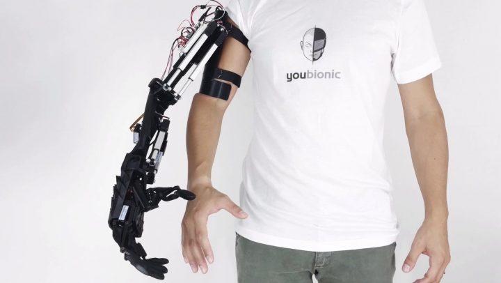 イタリアのスタートアップ企業 Youbionic 3Dプリント・ロボットハンド「Youbionic Arm」を発売