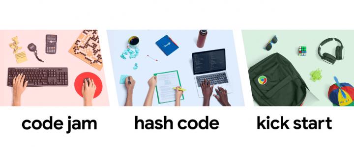 Googleのプログラミング・コンテストがエントリー受付中 「Code Jam」「Hash Code」「Kick Start」の3部門…