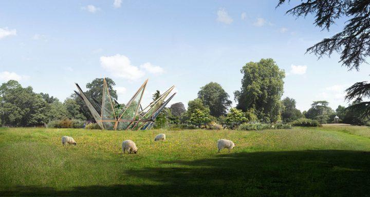 """イギリスの建築設計事務所・Heatherwick Studioの温室プロジェクト コンセプトは「花の""""がく""""のような構造」"""