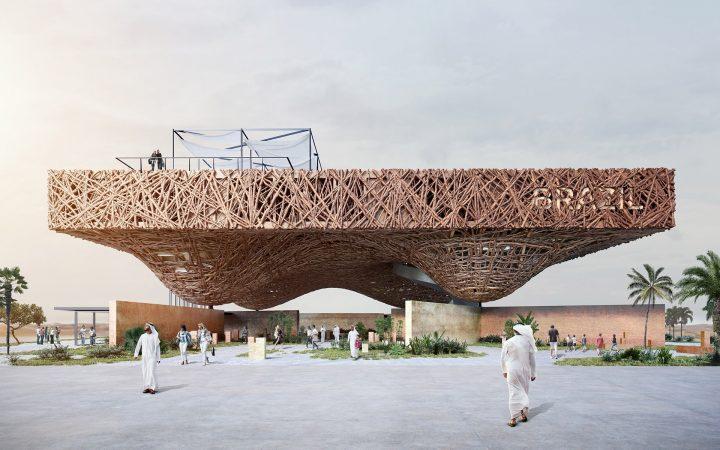 建築家 Gabriel Kozlowski ブラジルの農法から着想した ドバイ万博ブラジル館のデザイン案を公開