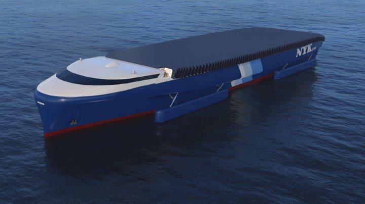 日本郵船グループが船舶の脱炭素化に向けたイノベーションを結集 新コンセプトシップ「NYKスーパーエコシ…