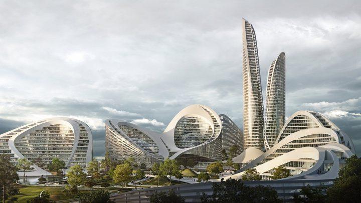 モスクワ西部のスマートシティ地区 「Rublyovo-Arkhangelskoye」 Zaha Hadid Architectsや日建設計らが建…