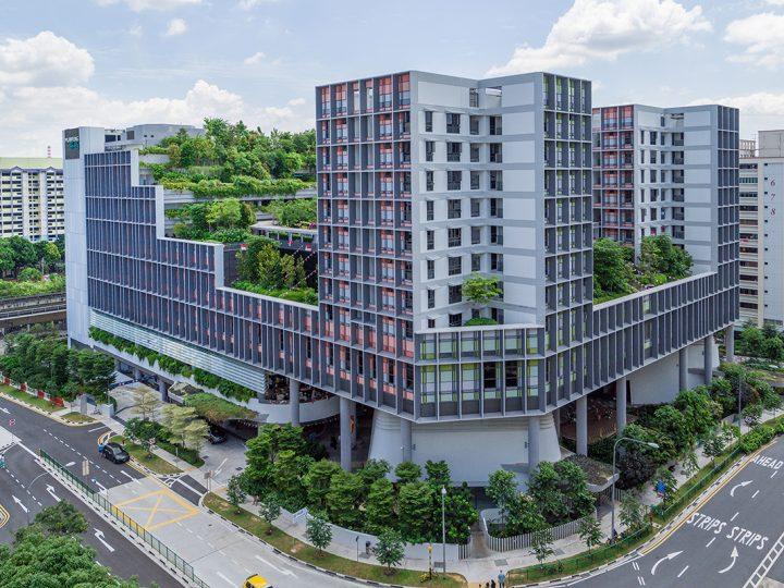 WOHA Architectsの「Kampung Admiralty」 WAFのWorld Building of the Year 2018を受賞