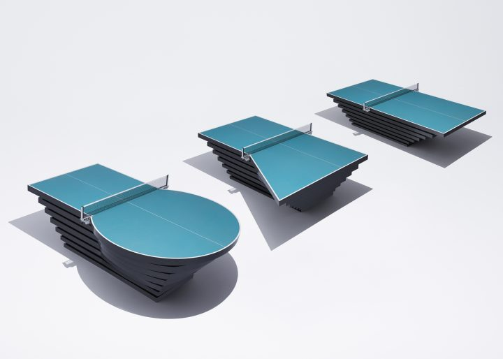 パラ卓球選手の障がいに応じて変化する「パラ卓球台」 TBWA\HAKUHODOが開発