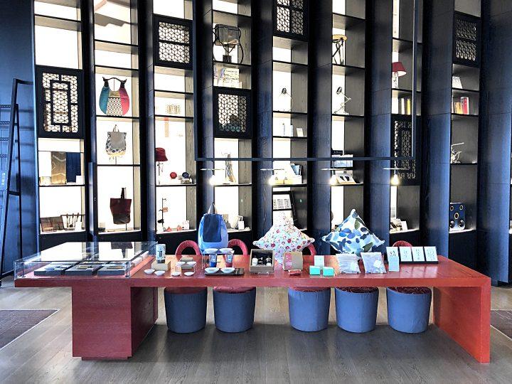 台湾のデザイナーズホテル事情。「ザ・プレイス」の設備・展示編