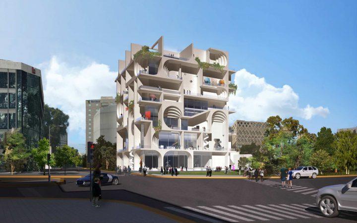 レバノン生まれの建築家 Amale Andraos ベイルート美術館のデザイン案を公開